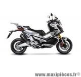Pot d'échappement Leovince SBK Factory S carbone pour moto Honda X-ADV