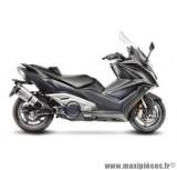 Pot d'échappement Leovince SBK Factory S inox catalysé Euro 4 pour moto Kymco AK 550