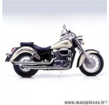 Ligne d'échappement Leovince Silvertail K02 pour moto Honda VT 750 C Shadow
