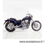 Ligne d'échappement Leovince Silvertail K02 pour moto Honda VT 600 C Shadow