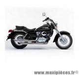 Ligne d'échappement Leovince Silvertail K02 pour moto Honda VT125 C Shadow 99/07