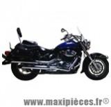 Ligne d'échappement Leovince Silvertail K02 pour moto Suzuki VL 800 Intruder