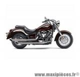 Ligne d'échappement Leovince Silvertail K02 pour moto Kawasaki VN 900 Custom Classic 07/13