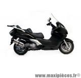 Pot d'échappement Leovince SBK LV One inox pour maxiscooter Honda SW-T 400/600