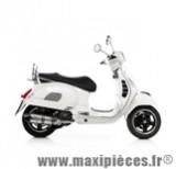 Pot d'échappement Leovince SBK LV One inox pour maxiscooter VespaGTS 250