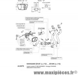Ligne d'échappement Leovince SBK Kawasaki underbody ER-6N-F 12/13 Versys 650 15/16