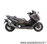 Ligne d'échappement Leovince SBK LV One inox pour moto Yamaha T-Max 530
