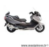 Pot d'échappement Leovince SBK LV One inox pour moto Suzuki Burgman 650 '13