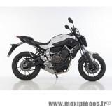 Ligne d'échappement Leovince SBK Underbody inox pour moto Yamaha MT-07