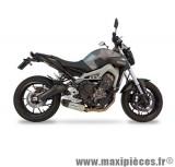 Ligne d'échappement Leovince SBK Underbody inox pour moto Yamaha MT-09