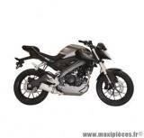Ligne d'échappement Leovince SBK LV One inox pour moto Yamaha MT-125/YZF-R 125