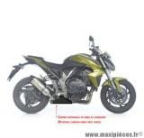 Cache catalyseur Leovince en carbone pour moto Honda CB 1000 RR i.e *Prix spécial !
