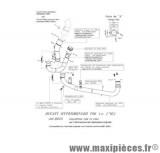 Collecteur décatalyseur SBK Leovince pour moto Ducati 796 Hypermotard