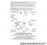 Collecteur décatalyseur SBK Leovince pour moto Ducati Multistrada 1200