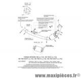 Collecteur décatalyseur SBK Leovince pour moto Honda NC700/750 et Integra