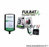 CHARGEUR POUR BATTERIE FULBAT FULLOAD 1000 - 6V / 12V 1A (POUR BATTERIE DE 2 A 20 AH)
