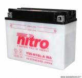 BATTERIE MOTO / SCOOT / QUAD 12V 20Ah Y50-N18L-A NITRO AVEC ENTRETIEN (Lg205xL90xH162)