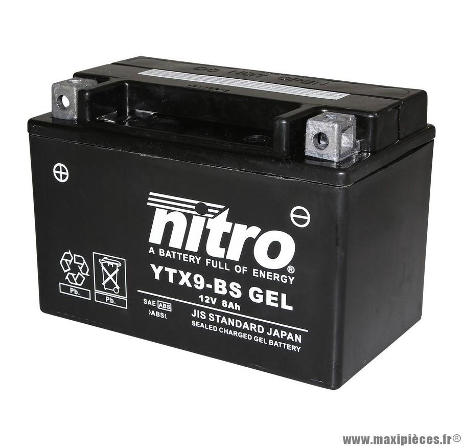 batterie moto 12v 9ah sans entretien