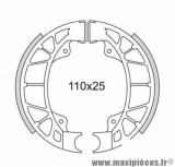 MACHOIRE FREIN SCOOTER AR DOPPLER POUR: TYPHOON/STALKER/NRG/ZIP/VESPA LX 04->/LXV 110X25