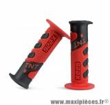 Revêtement poignée TNT cross rouge / noir
