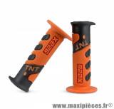 Revêtement poignée TNT cross orange / noir