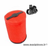 FILTRE A AIR MARCHALD AIR PLUS KHR ROUGE DIAMETRE: 28-43MM L. 170MM