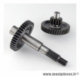 ENGRENAGE / TRANSMISSION POUR SCOOTER MARQUE DOPPLER POUR: BOOSTER -52 / 14-41 (2PCS) AXE ROUE AR
