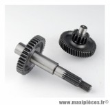 ENGRENAGE / TRANSMISSION POUR SCOOTER MARQUE DOPPLER POUR: BOOSTER -52 / 15-39 (2PCS)(AXE ROUE AR)