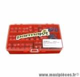 BOITE PARMAKIT DE 18 JEU DE GALETS 15 X 12 + RESSORTS ( 4.5 / 5 / 5.5 / 6 / 6.5 / 7.5 / 8.5 / 9 / 10 )