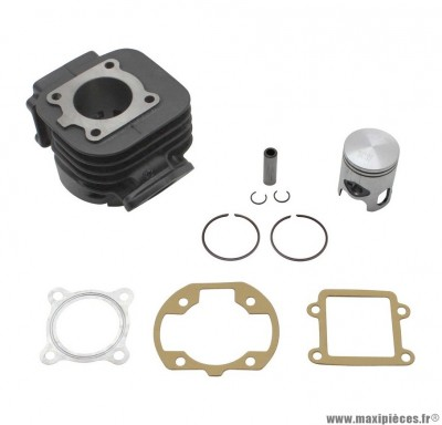CYLINDRE PISTON DR FONTE POUR SCOOTER MBK BOOSTER, STUNT/YAMAMA BWS, SLIDER 50cc