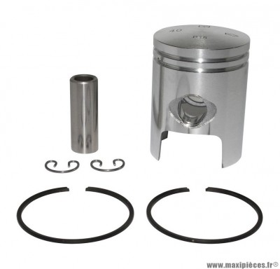 PISTON SCOOTER OLYMPIA POUR PIAGGIO 50 ZIP 2T, TYPHOON, NRG/GILERA 50 STALKER, RUNNER, DNA (DIAMETRE 40)