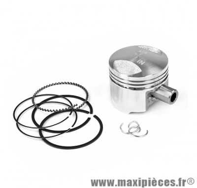 PISTON SCOOTER ADAPTABLE POUR: SYM 4TPS MIO / ORBIT / PEUGEOT VIVACITY 3 / TWEET / LUDIX 4TPS Ø.37MM