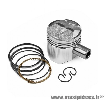 PISTON SCOOTER ADAPTABLE POUR: PIAGGIO 50CC 4TPS ZIP / FLY / LIBERTY / VESPA ET4  D40 ( MOTEUR 2 SOUPAPES )