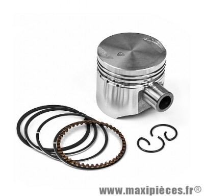 PISTON SCOOTER ADAPTABLE POUR: PIAGGIO 50CC 4TPS ZIP / FLY / LIBERTY / VESPA ET4  D40 ( MOTEUR 4 SOUPAPES )