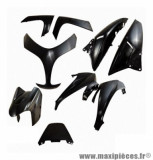 Kit carrosserie Tun'r (9 pièces) noir pour maxi scooter t-max 500 2008>2011
