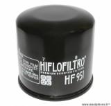 Filtre à huile Hiflofiltro HF951 (65x64mm) pièce pour Maxi-Scooter : HONDA 300 SH 2007>2010, 400 SILVER WING 2001>,400 SW-T, 250 FORZA, 600 SILVER WING 2001>2009