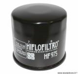Filtre à huile Hiflofiltro HF975 (68x65mm) pièce pour Maxi-Scooter : SUZUKI 650 BURGMAN 2003>2012