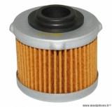 Filtre à huile Hiflofiltro HF186 (41x35mm) pièce pour Maxi-Scooter : APRILIA 125 SCARABEO LIGHT 2007>