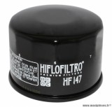 Filtre à huile Hiflofiltro HF147 (68x50mm) pièce pour Maxi-Scooter : KYMCO 500 XCITING 2009>, 700 MYROAD 2011>
