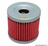 Filtre à huile Hiflofiltro HF131 (44x40mm) pièce pour Maxi-Scooter : SUZUKI 125 AN 1995>2000, DR 125 S, GN 125 E-HYOSUNG 125-250 AQUILA, 250 COMET