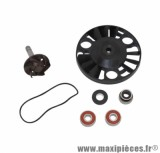 Kit réparation pompe à eau maxi-scooter pour Piaggio 125 x8, x9, beverly, vespa gts / gilera 125 nexus, runner, dna / aprilia 125 atlantic, sport city (roulements diamètre 22) - Type origine, Top Perf
