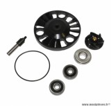 Kit réparation pompe à eau maxi-scooter pour Piaggio 125 mp3, 125 x evo, 125 x7, 125 x8, 125 x9, 125 vespa gts / aprilia 125 atlantic / gilera 125 nexus (roulements diamètre 28) - Type origine, Top Perf