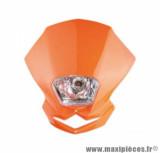 Tête de fourche blaster (12v35w) orange pour moto, 50 a boite, cyclomoteur