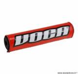 Mousse de guidon Voca 250mm pour guidon motocross avec barre couleur rouge