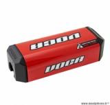 Mousse de guidon Voca HB28 pour motocross couleur rouge