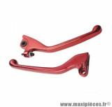 Levier rouge pour moto derbi gpr / xp6