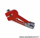 Biellette embrayage pour moto derbi / senda / gpr alu lighty rouge