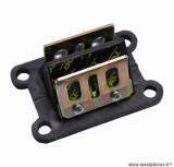 Clapet 50 à boite Top Perf carbone pour minarelli am6 / mbk 50 x - power / yamaha 50 tzr / peugeot 50 xps / rieju 50 rs1, smx / gilera 50 smt, rcr / aprilia 50 rs