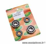 Kit Roulement d'embiellage + joint Top Perf pour derbi moteur euro2 + euro3 50cc senda, gpr / gilera 50 smt, rcr...