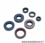 Joint spi moteur 50 à boite pour minarelli am6 / mbk 50 x - limit, x - power / yamaha 50 dtr, tzr / peugeot 50 xps, xr6 / rieju 50 rs1, smx / beta 50 rr / aprilia 50 rs, rx (kit) - Type origine, Top Perf